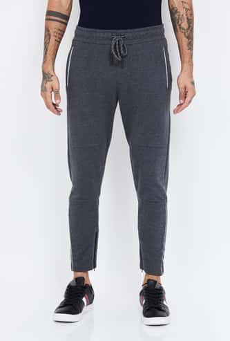 BOSSINI Textured Elasticated Track Pants