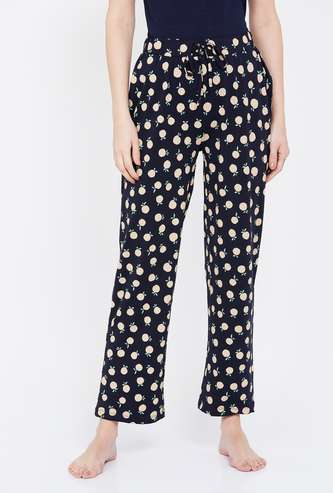 GINGER Printed Elasticated Lounge Pants