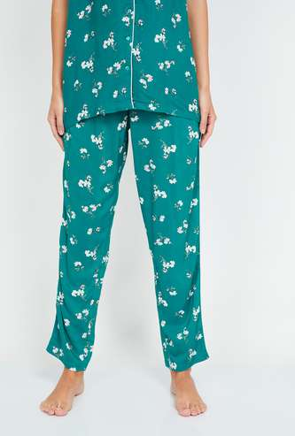 GINGER Women Printed Elasticated Pyjamas