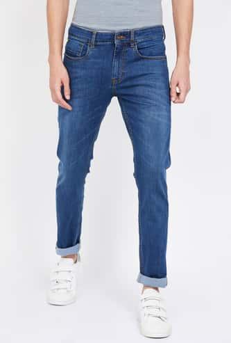 UCLA Stonewashed Skinny Fit Jeans