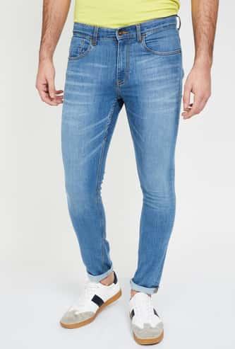 UCLA Dark Washed Skinny Jeans