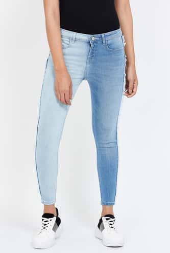 JEALOUS 21 Washed Skinny Fit Jeans