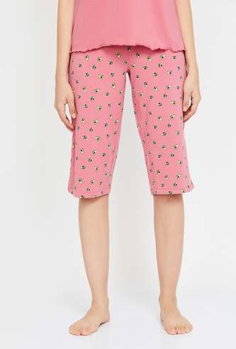 GINGER Women Printed Lounge Capris