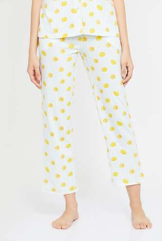 GINGER Women Printed Pyjama Pants