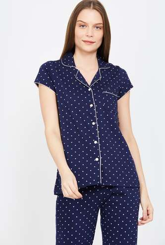 GINGER Printed Lounge Shirt