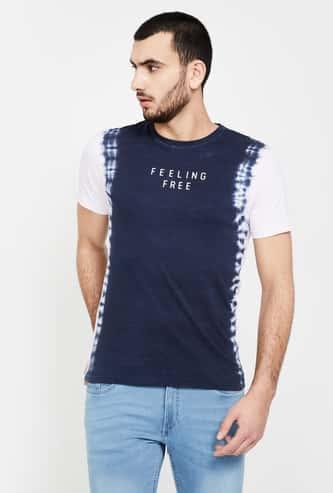 BOSSINI Printed Regular Fit Crew Neck T-shirt