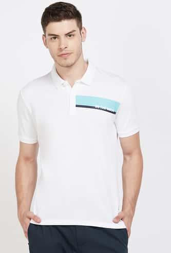 KAPPA Solid Regular Fit Polo T-shirt
