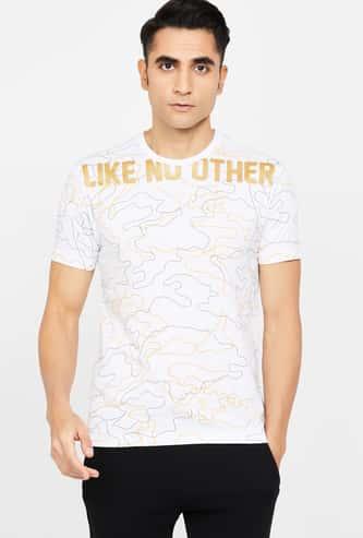 KAPPA Printed Short Sleeves Regular Fit T-shirt