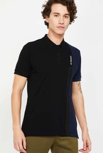 KAPPA Men Colorblocked Regular Fit Polo T-shirt