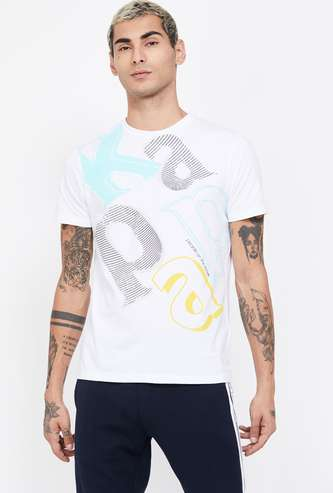 KAPPA Typographic Print Regular Fit T-shirt
