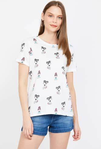 GINGER Printed Short Sleeves T-shirt