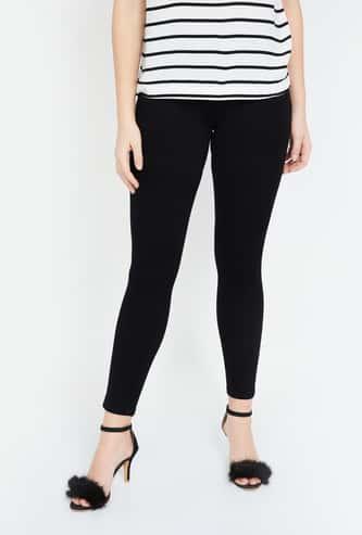KRAUS Solid Skinny Fit Jeans