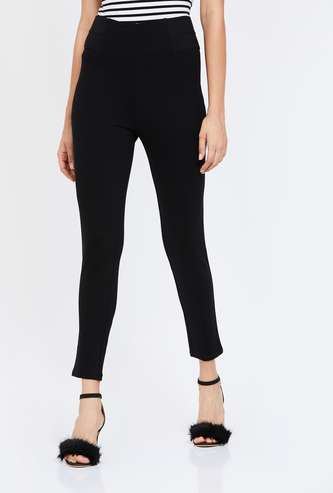 CODE Solid Elasticated Treggings