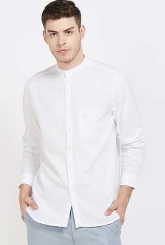CODE Printed Regular Fit Casual Shirt
