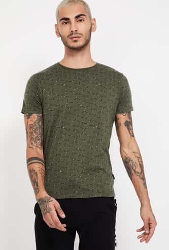 PEPE JEANS Printed Slim Fit Crew Neck T-shirt