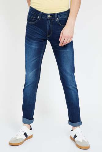 SPYKAR Stonewashed Slim Fit Jeans