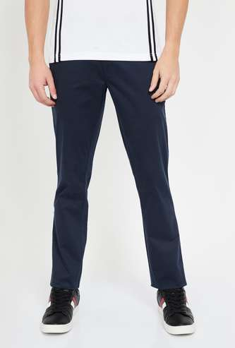 COLORPLUS Solid Super Slim Chinos