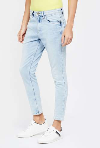 BOSSINI Stonewashed Slim Tapered Jeans