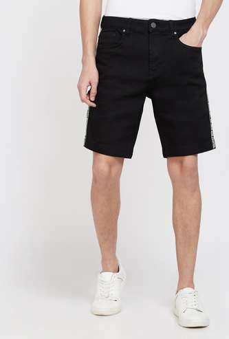 FORCA Solid Slim Fit Shorts