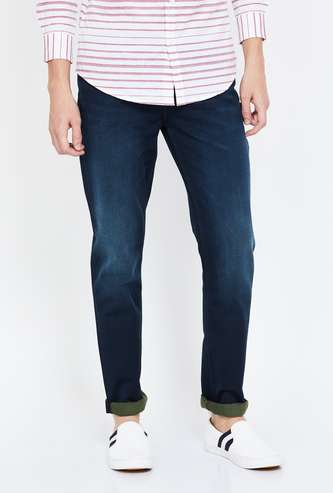 LEE Stonewashed Skinny Fit Jeans