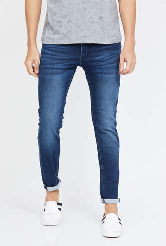 PEPE JEANS Stonewashed Slim Tapered Jeans