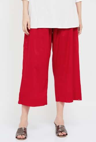 BIBA Solid Elasticated Culottes