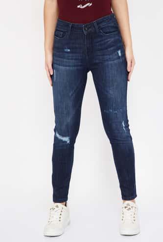 VERO MODA Stonewashed Regular Fit Jeans