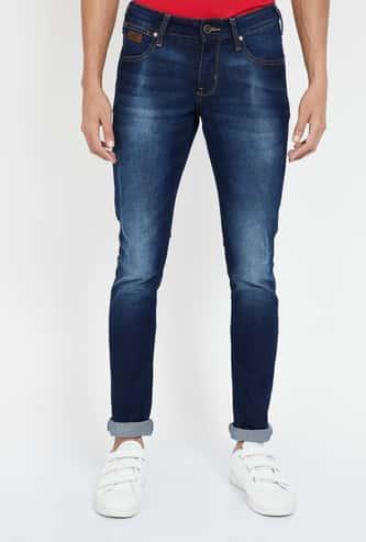 WRANGLER Stonewashed Skinny Fit Jeans