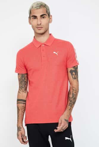 PUMA Tape Detailed Regular Fit Polo T-shirt
