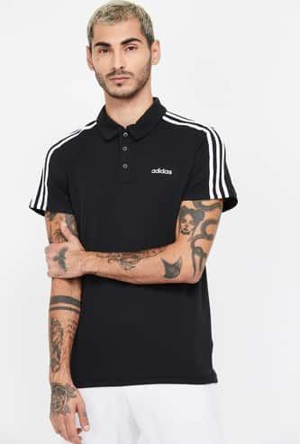 ADIDAS Solid Short Sleeves Regular Fit Polo T-shirt