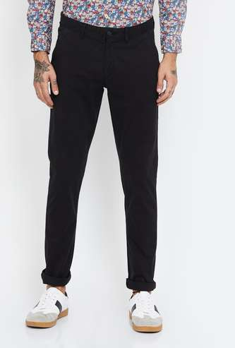 ARROW SPORT Solid Slim Fit Chinos