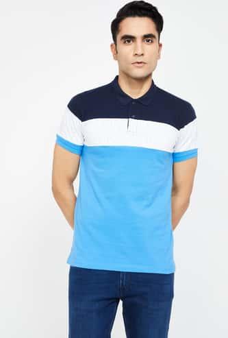 PEPE JEANS Colourblock Regular Fit Polo T-shirt