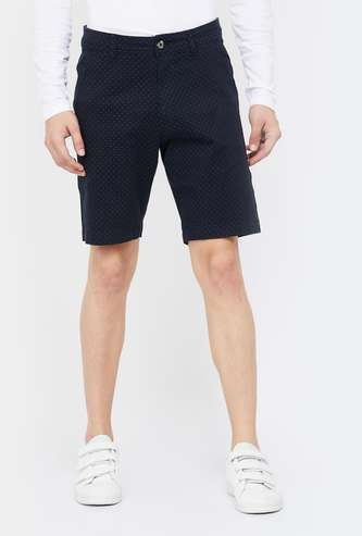 FAME FOREVER Men Printed Regular Fit Shorts