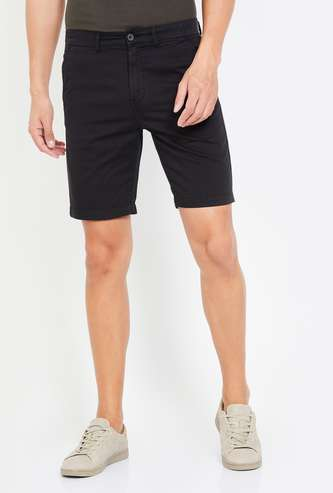 FAME FOREVER Men Solid Regular Fit City Shorts