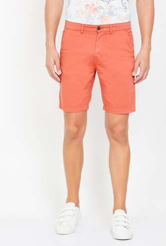 PEPE JEANS Men Solid Regular Fit City Shorts