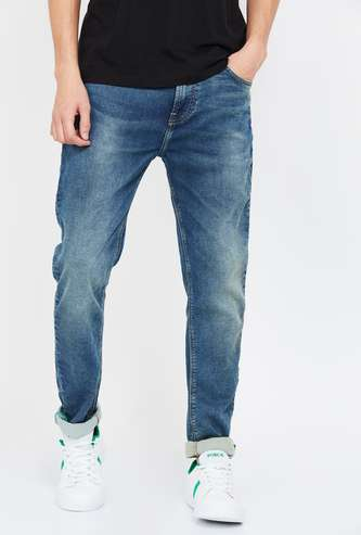 UNITED COLORS OF BENETTON Stonewashed Regular Fit Jeans