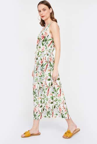 VERO MODA Printed Midi Dress