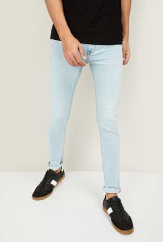 FORCA Men Washed Super Skinny Fit Jeans