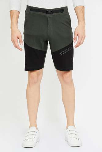 PROLINE Textured Regular Fit Elasticated Shorts