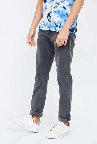 LEE Bruce Solid Skinny Fit Jeans