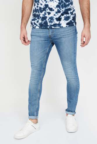 LEVI'S 512 Stonewashed Slim Fit Jeans