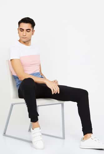 ED HARDY Printed Elasticated Slim Fit Joggers