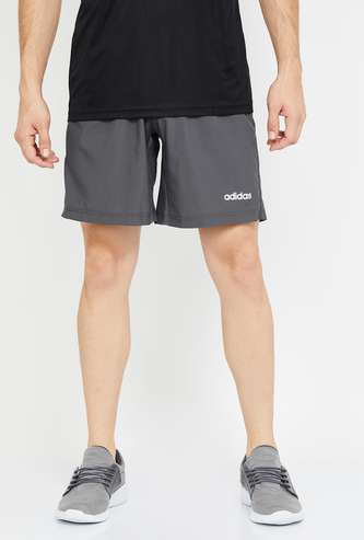 ADIDAS Solid Regular Fit Elasticated Shorts