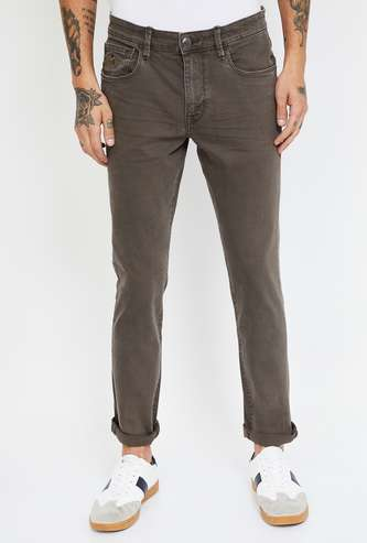 U.S. POLO ASSN. Brandon Stonewashed Slim Tapered Fit Jeans