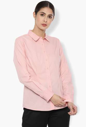 VAN HEUSEN Regular Fit Semi-Formal Shirt