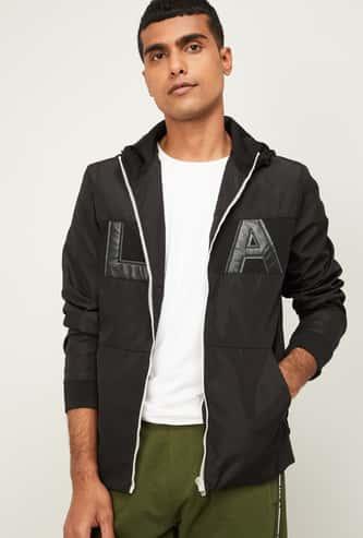 UCLA Men Printed Hooded Sweatshirt