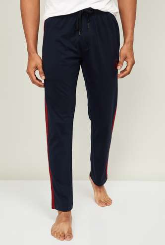 U.S. POLO ASSN. Men Solid Lounge Track Pants