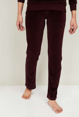 GINGER Women Solid Lounge Pants