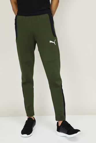 PUMA Men Colorblocked Regular Fit Track Pants