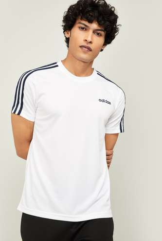 ADIDAS Men Printed Regular Fit T-shirt